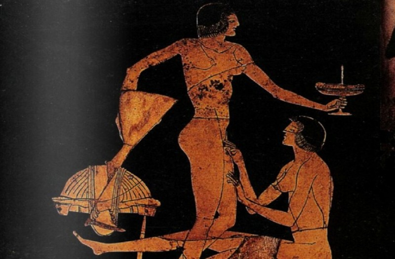 Tα σοκαριστικά  «μυστικά» των Αρχαίων Ελλήνων για το σ@ξ - Το κόλπο με το ελαιόλαδο για το π@#ς (photos)