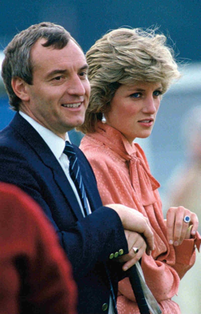 Barry Mannakee σχέση πριγκίπισσας Νταϊανα