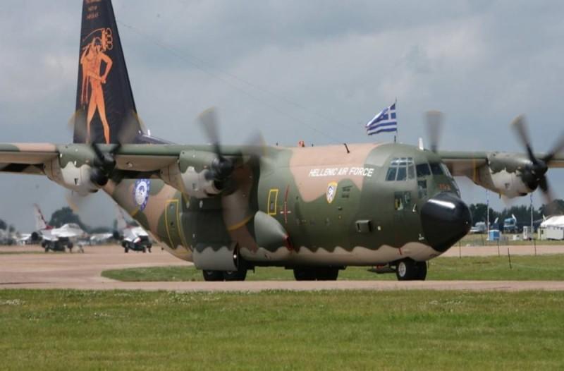Πρώτη αεροδιακομιδή ασθενών με κορωνοϊό από Δράμα σε Αθήνα με C-130