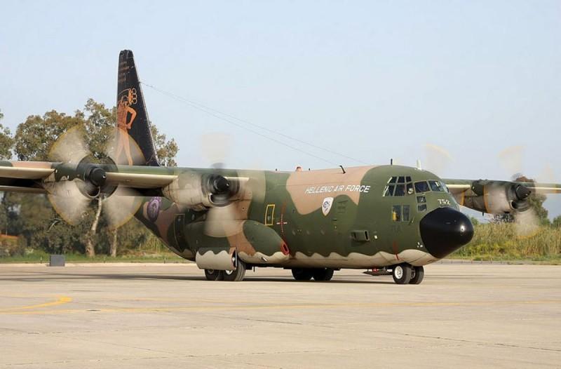 C-130: ασθενής με κορωνοϊό από την Δράμα στην Αθήνα