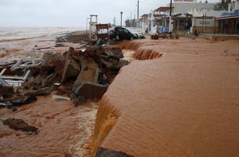 Σε κατάσταση έκτακτης ανάγκης κηρύχθηκε η περιφέρεια Ρεθύμνου