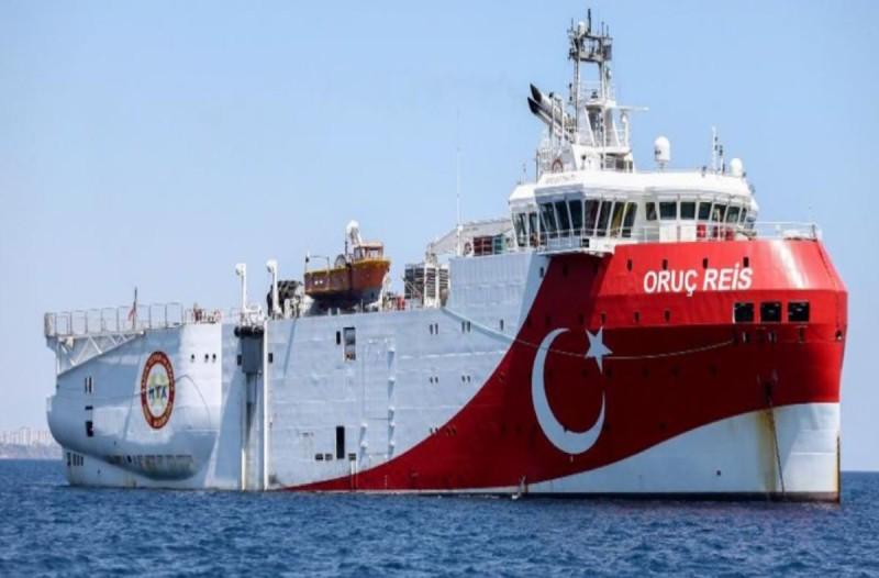 Νέα τουρκική Navtex για το Oruc Reis - Έχει ισχύ μέχρι 29 Νοεμβρίου