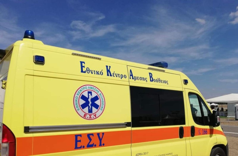 Νεκρός 72χρονος που έπεσε από μπαλκόνι στα Χανιά