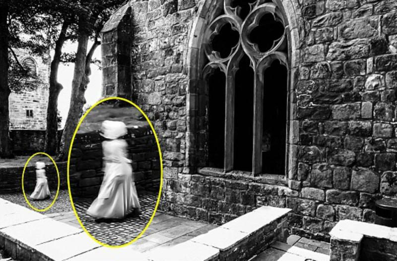 34χρονος φωτογράφισε με την κάμερά του φάντασμα