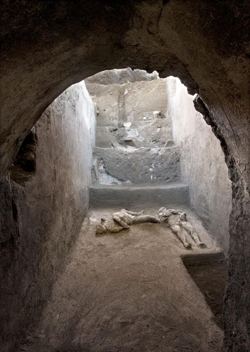 Πομπηία: Βρήκαν τα λείψανα πλούσιου και σκλάβου