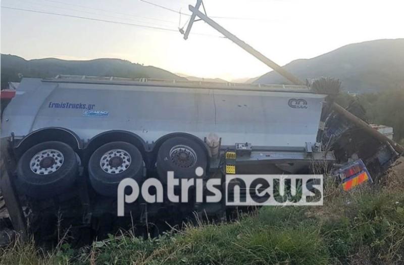 Τραγωδία στο Γιαννιτσοχώρι: Έχασε τη ζωή του 24χρονος οδηγός νταλίκας