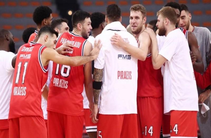 Ολυμπιακός: Σε καραντίνα όλη η ομάδα μπάσκετ μετά τα κρούσματα κορωνοϊού