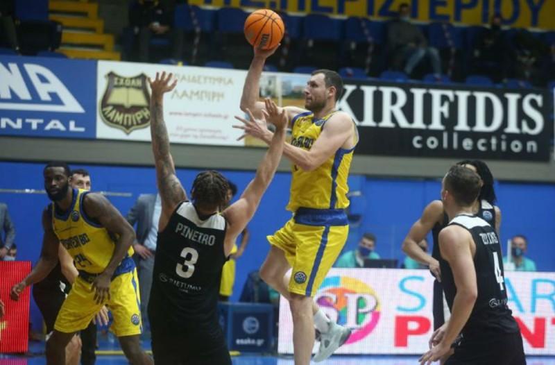 Basketball Champions League: Ήττα θρίλερ για το Περιστέρι