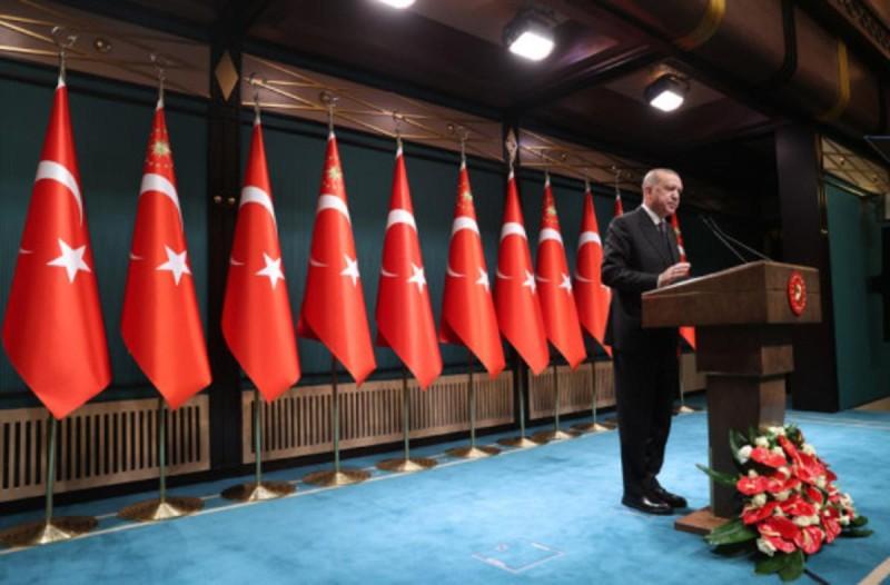 Ερντογάν για κυρώσεις ΗΠΑ