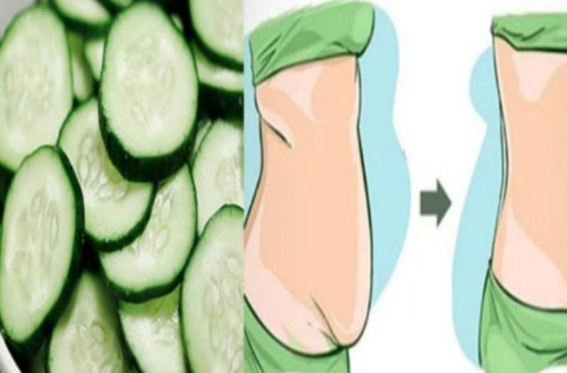 Χάστε 5 κιλά σε 7 ημέρες με τη δίαιτα του αγγουριού