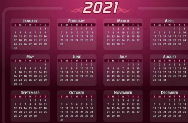 Αργίες 2021: Πότε πέφτουν Καθαρά Δευτέρα, Πάσχα, Αγίου Πνεύματος - Τα τριήμερα της νέας χρονιάς