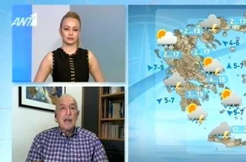 «Μεγάλος κύκλος κακοκαιριών σκεπάζει την Ελλάδα μέχρι…» - Ο Τάσος Αρνιακός προειδοποιεί