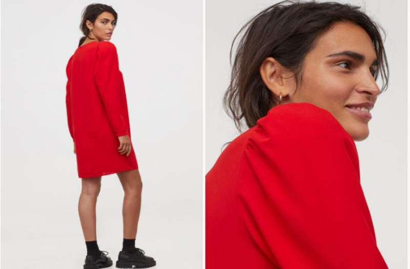 Το κόκκινο φόρεμα από τα καταστήματα H&M που κοστίζει μόνο 19,99 ευρώ