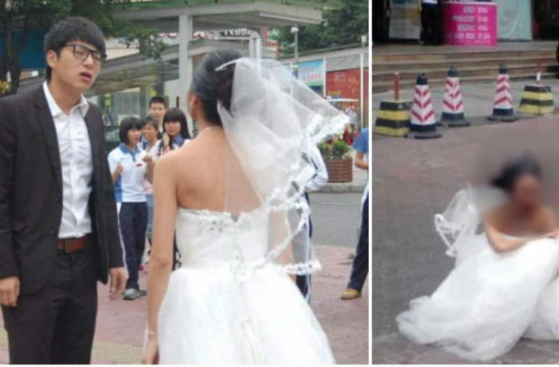 Γαμπρός μόλις είδε το πρόσωπο της νύφης της ζήτησε να χωρίσουν - Δείτε την από μπροστά και θα... (Video)