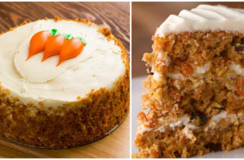 Λιώνει στο στόμα: Φτιάξτε κέικ καρότου με λίγα υλικά