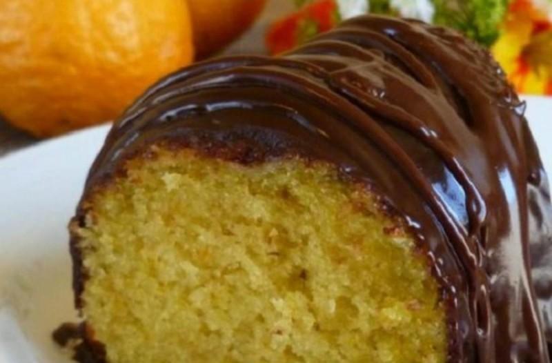 Κέικ πορτοκαλιού - σοκολάτας νηστίσιμο