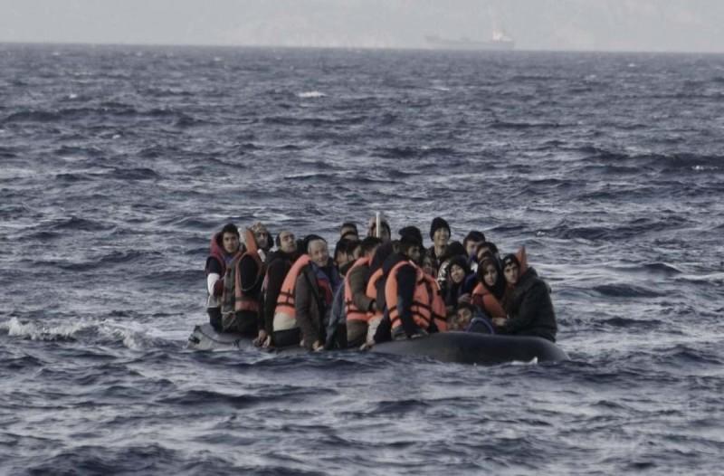Ναυάγιο με μετανάστες στη Λέσβο