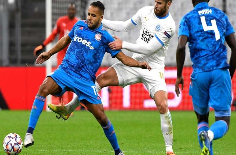 Champions League: Μαρσέιγ-Ολυμπιακός 2-1 - Άδικη ήττα με δύο πέναλτι