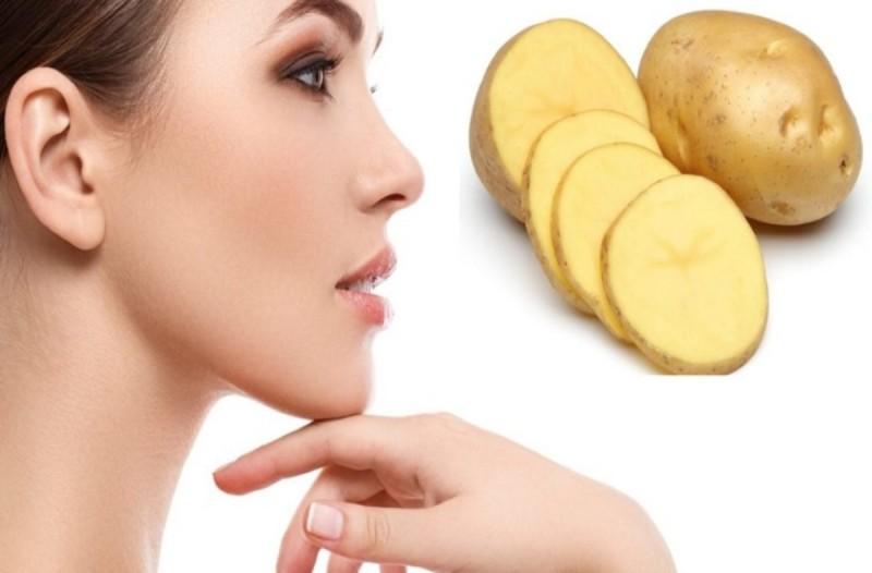 Πώς η πατάτες βοηθάνε στο δέρμα