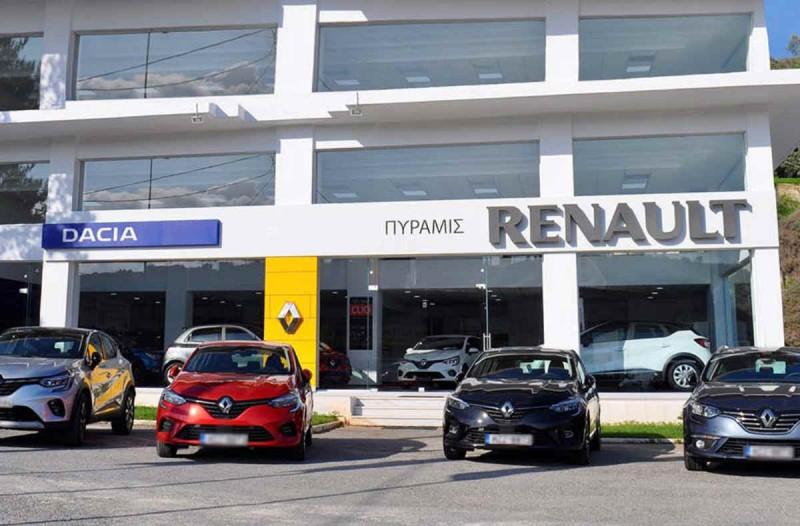 ΠΥΡΑΜΙΣ Ε.Π.Ε: Νέα εποχή Renault στο Ηράκλειο Κρήτης