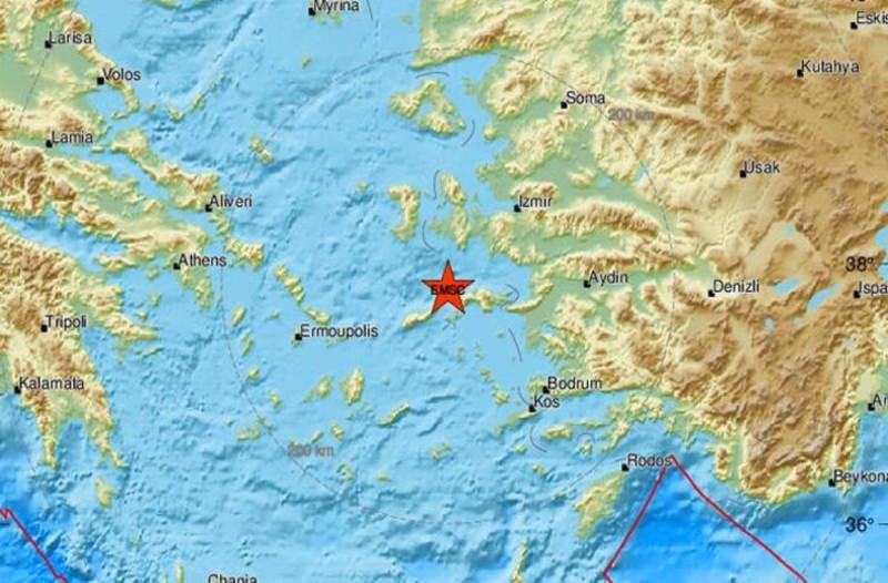 Σεισμός στη Σάμο