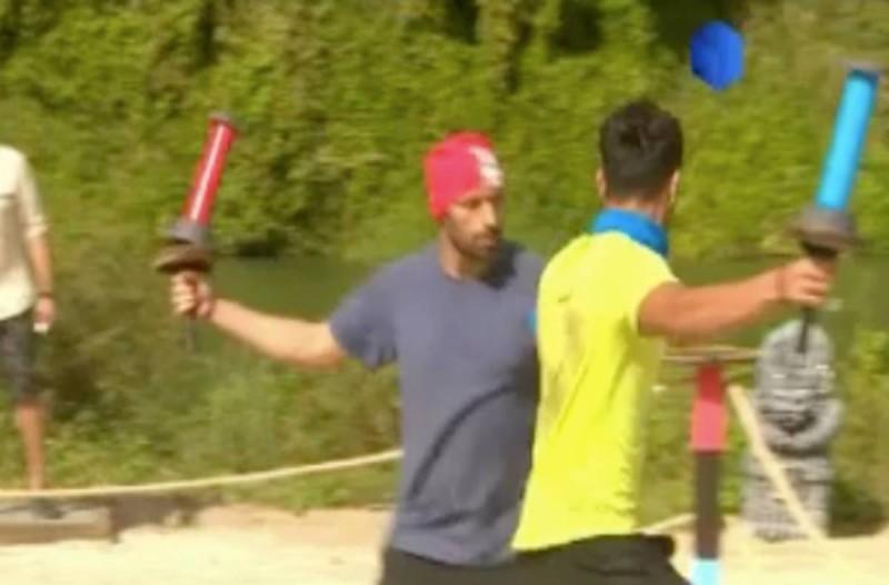 Survivor 4: Άγριος καβγάς στο αγώνισμα - Σε «σύρραξη» Μαχητές και Διάσημοι