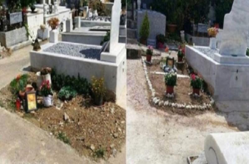 Θλίψη: Εντελώς παρατημένος ο τάφος του αγαπημένου…. – Κανείς δεν φρόντισε να ολοκληρωθεί