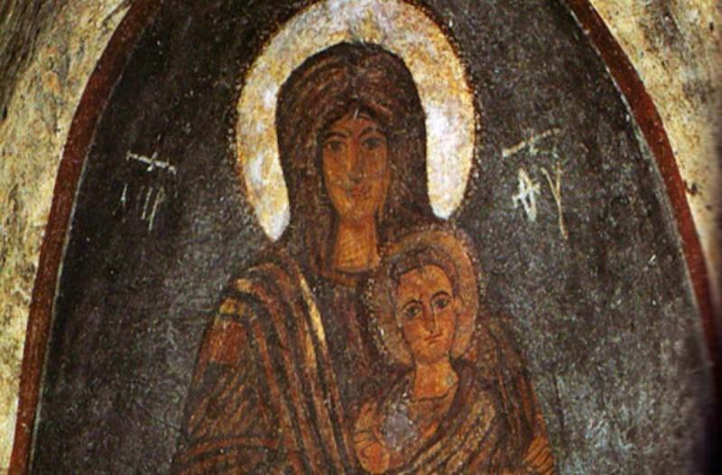 Πανικός στην Τουρκία με τοιχογραφία που δείχνει την Παναγία να χαμογελά