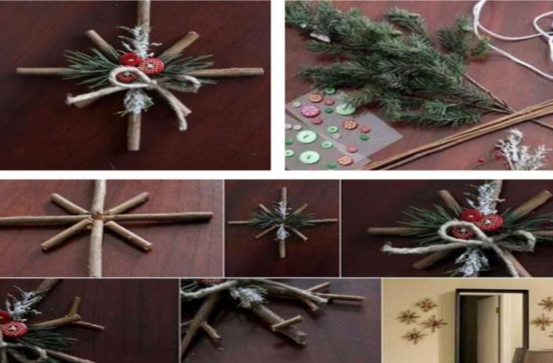 Πώς να φτιάξεις Χριστουγεννιάτικα στολίδια μόνος σου
