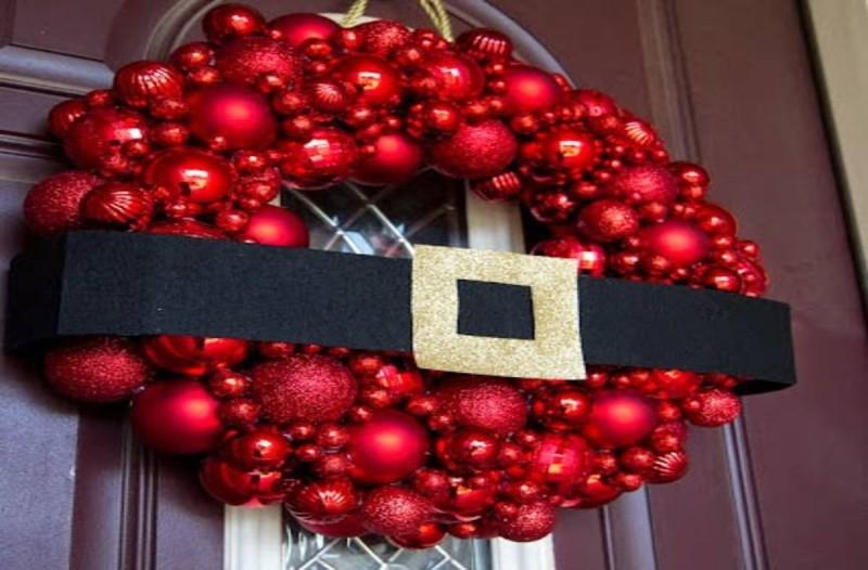 Φτιάξτε μόνοι σας Χριστουγεννιάτικο στεφάνι