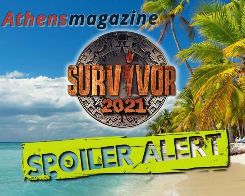 Survivor spoiler 13/01, vol.2: Ποιος είναι ο τέταρτος υποψήφιος προς αποχώρηση;