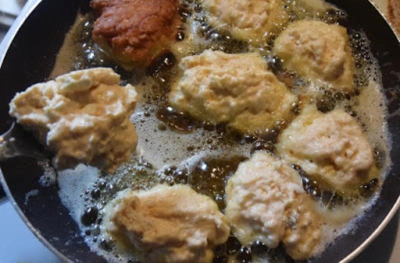 Συνταγή για τηγανίτες Βαρδουσίων