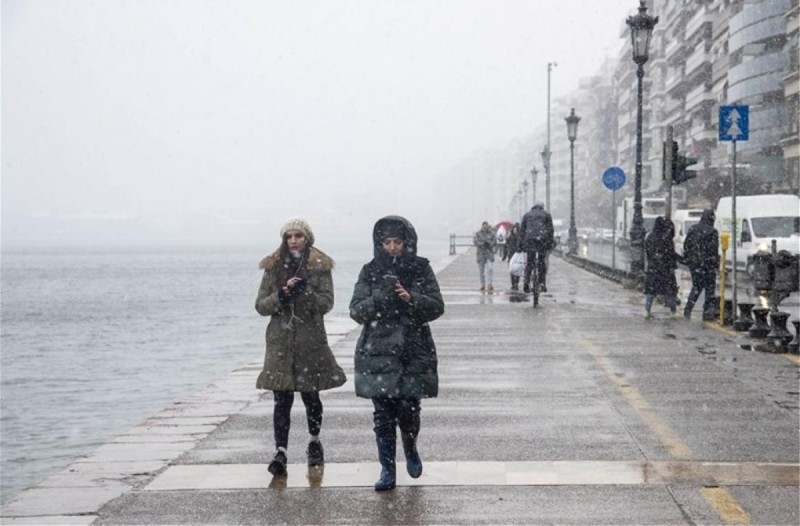 Καιρός σήμερα: Συνεχίζεται το τσουχτερό κρύο - Πού θα χιονίσει;