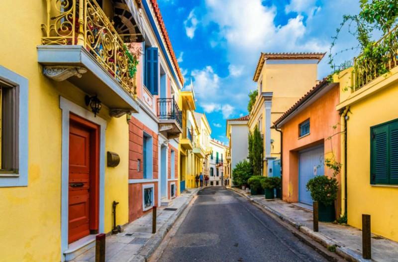Η φωτογραφία της ημέρας: Στην ομορφότερη Αθηναϊκή γειτονιά!