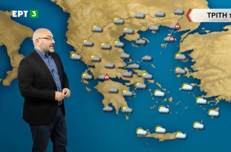 «Μεγάλη διαταραχή σε όλη την χώρα και χιόνια στα πολύ χαμηλά…» - Καμπανάκι από τον Σάκη Αρναούτογλου