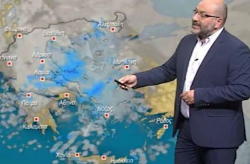 Προειδοποίηση Σάκη Αρναούτογλου: «Πιο ισχυρά φαινόμενα θα χτυπήσουν στις περιοχές...» (photo)
