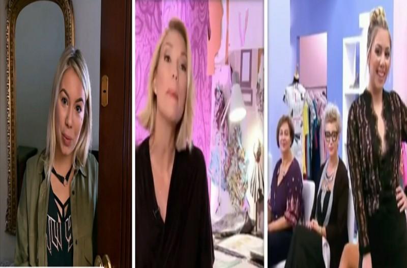 Άφωνη η Βίκυ Καγιά με την Εριέττα του Bachelor - Δεν θα την αναγνώριζε ούτε η ίδια! (Video)