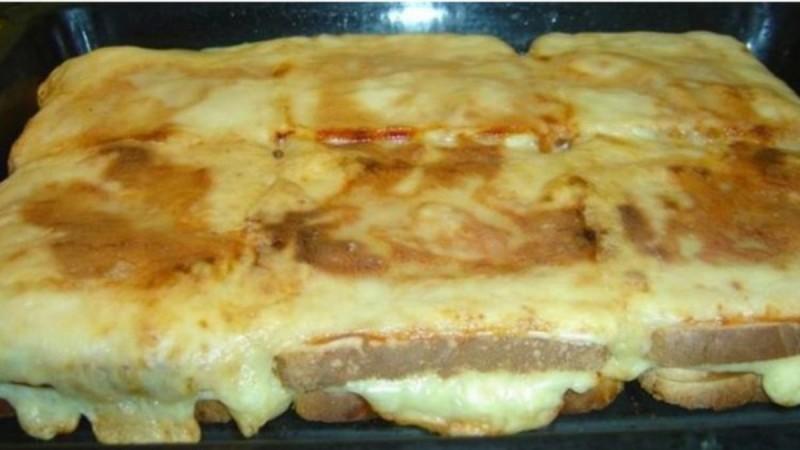 Συνταγή για πίτσα τοστ