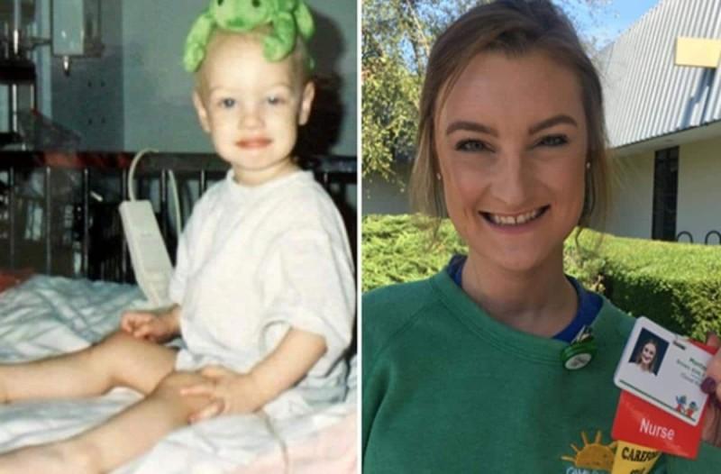 Η γυναίκα που πάλευε με τον καρκίνο από 2 ετών και τώρα είναι νοσοκόμα στο νοσοκομείο που γιατρεύτηκε