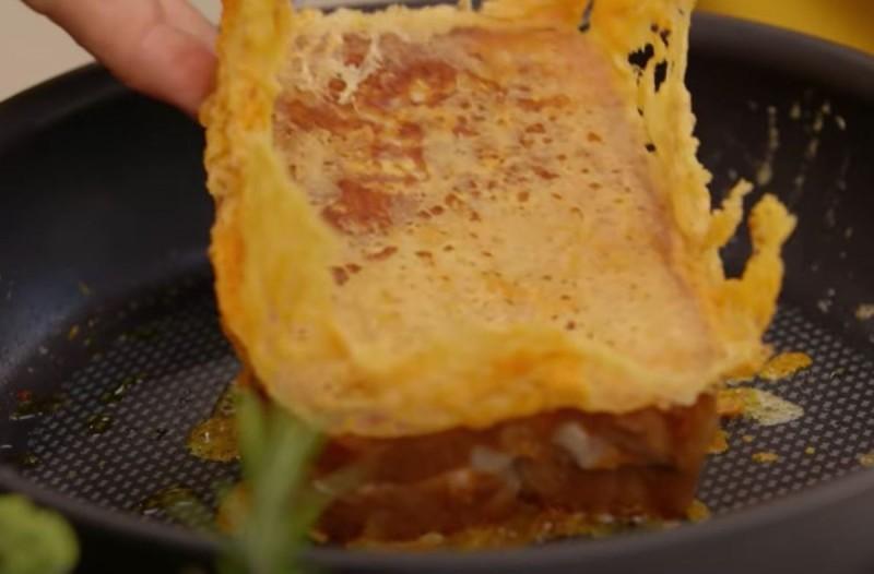 Λαχταριστά τηγανόψωμα με τυρί - Έτοιμα σε 3 λεπτά
