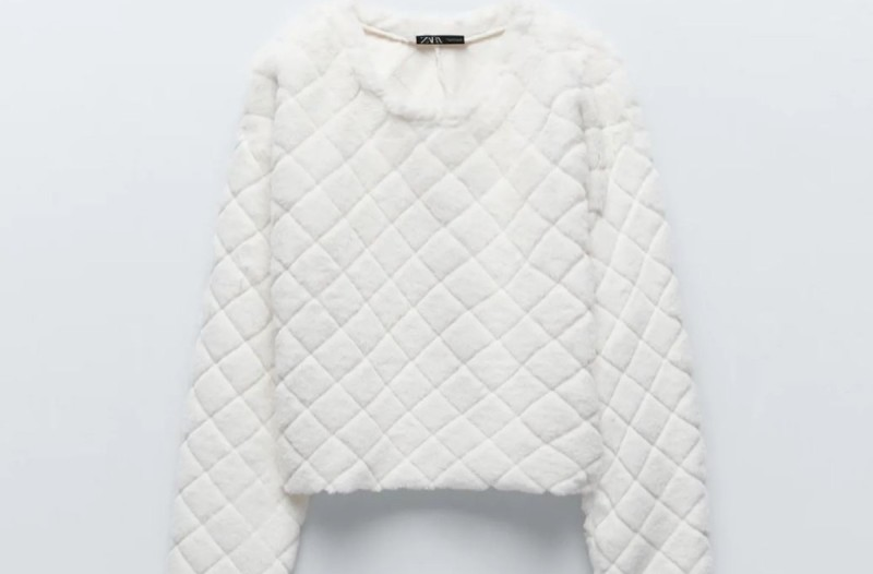 Zara προσφορές σε φούτερ
