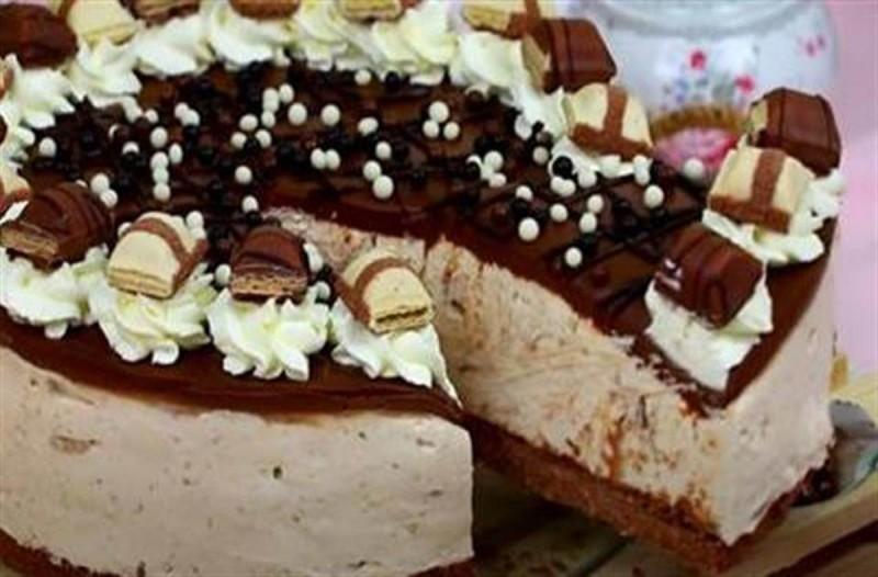 Συνταγή για γλυκό με κρέμα, μπισκότα και μπουένο