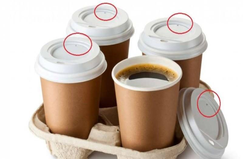 Που χρησιμεύει η τρυπούλα στο καπάκι του καφέ
