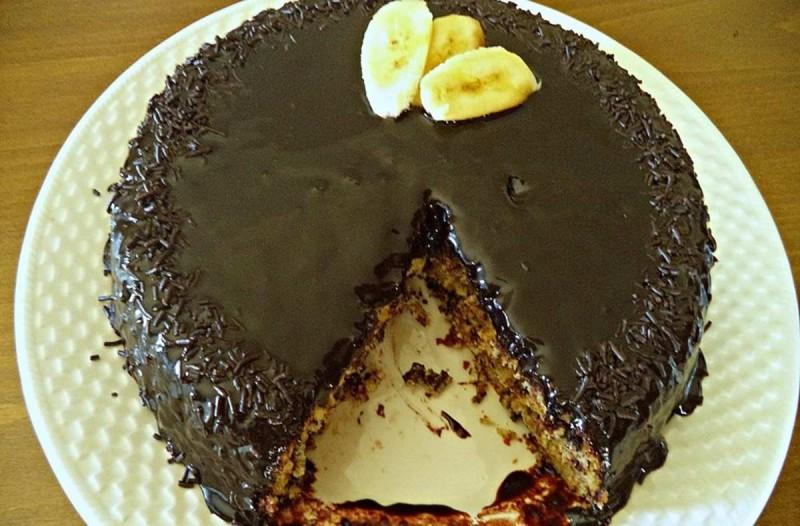 Συνταγή για κέικ μπανάνας με κακάο