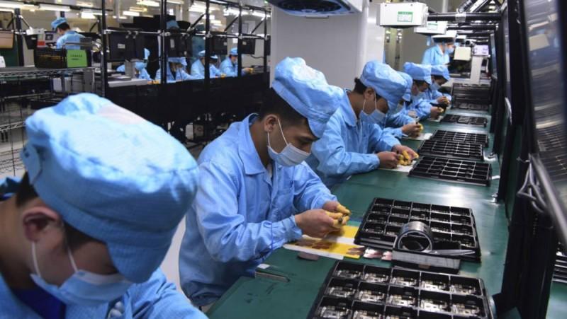Στην Κίνα έχει σημάνει συναγερμός για ένα εργοστάσιο.