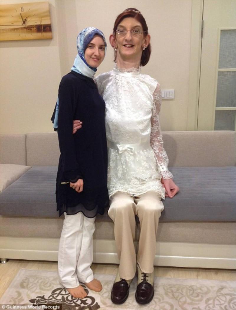 Βραβεύτηκε ως η πιο ψηλή έφηβη στον κόσμο.
