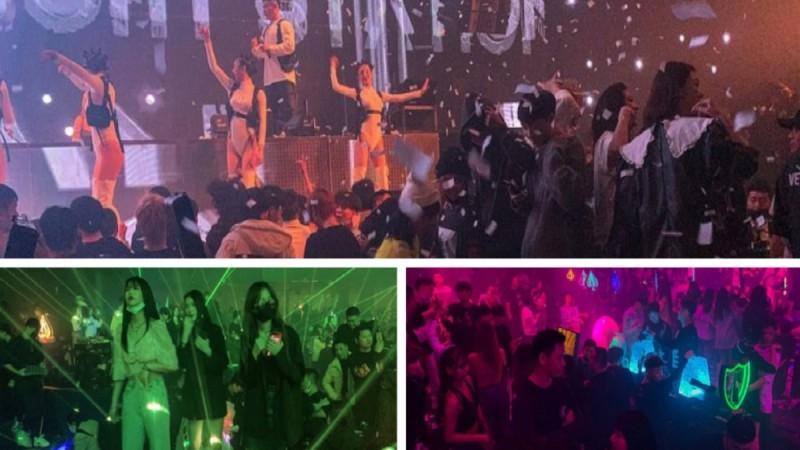 Κορωνοϊός: Ξεσαλώνουν στην Ουχάν! Γεμάτα κλαμπ και χωρίς μάσκες γιορτάζουν την πρώτη επέτειο του lockdown (Video)