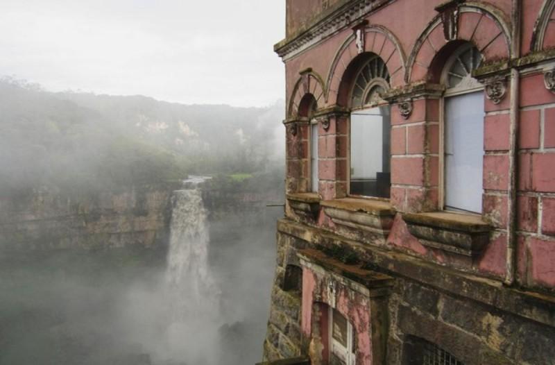 Ξενοδοχείο στην Κολομβία παρατημένο