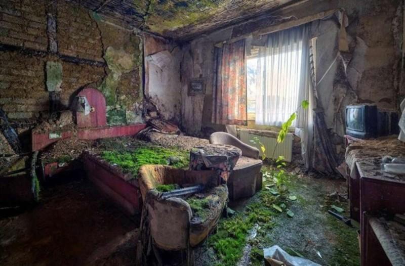 Κολομβία παρατημένο ξενοδοχείο