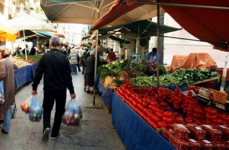 Lockdown: Ριζικές αλλαγές από τη Δευτέρα στις λαϊκές αγορές